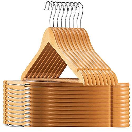 Wooden Coat Hangers Amazon