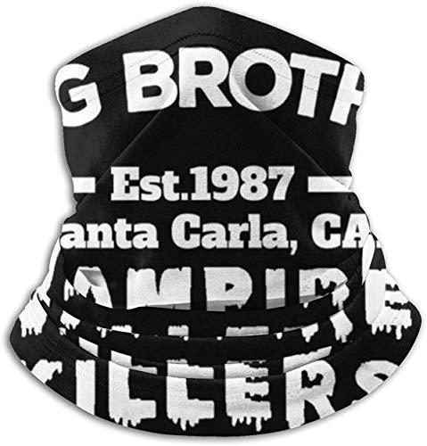 Frog Brothers Vampire Killers The Lost Boys, gorra Trucker unisex de microfibra calentador de cuello máscara para la cara, bandanas multifuncionales al aire libre, bufanda para el cuello, pasamontañas