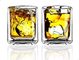 Sun's Tea Strong Double Wall Insulated Old Fashioned Glasses | Whiskey...