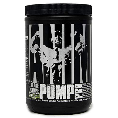 Animal Pump Pro Powder – Non Stimulant Preworkout – Pump & Cell volumization with Added Sea Salt for Electrolytes – 20 Servings - Strawberry Lemonade