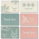 Gracias Tarjetas de Nota–Bulk Caja Set–en Blanco en el Interior–Incluye Sobres, 4x 6Pulgadas