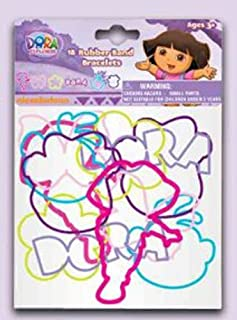 Dora the Explorer Silly Bandz Bracelet perfect as Party Favor and Christmas Stockings