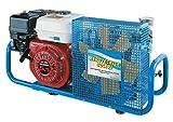 HTD Compresor de aire de 100 l/min 200/300 bar con motor de combustión