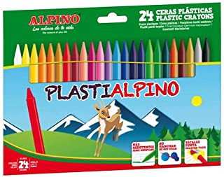 Ceras Alpino PLASTIALPINO Estuche de 24 Surtido