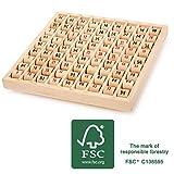 Small Foot Table de Multiplication FSC 100% Jouets, 11059, Multicolore