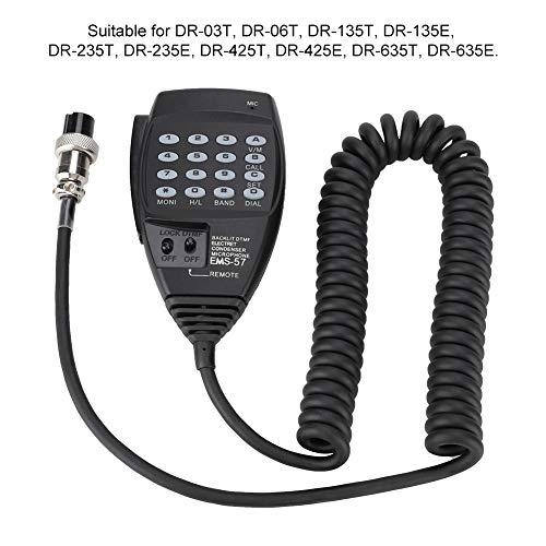 Surebuy Micrófono de Mano Micrófono de Alambre TPE, para comunicación, para teléfono, con Apariencia Hermosa