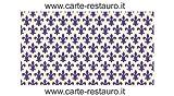 Madiant Tech snc di Gusmini Alessio & C. Florentiner Lilienpapier, Format 70x100 cm - Farbe: Blau - (Preis pro Packung à 50 Stück)