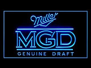 miller genuine draft beer sign