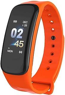 Pulsera Monitor de Actividad Pulsómetro y Podómetro para Mujeres Impermeable IP67, con Bluetooth Contador de Pasos y Monitor de Sueño para Smartphones con Android e iOS: iPhone, Samsung