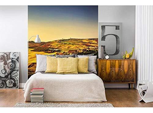 Vlies Fotobehang TOSCANE | Niet-Geweven Foto Mural | Wall Mural - Behang - Reusachtige Wandposter | Premium Kwaliteit - Gemaakt in de EU | 225 cm x 250 cm