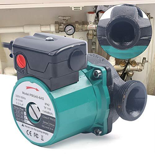 OUKANING - Pompa di circolazione ad alta efficienza per riscaldamento, pompa per acqua calda e riscaldamento, runner bagnato 25-60/120 mm