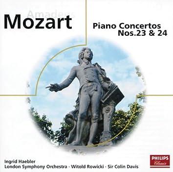 モーツァルト:ピアノ協奏曲第23・24番他