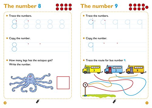 Numbers 0-20 Age 3-5 Wipe Clean Activity Book: Prepare for Preschool with easy home learning (Collins Easy Learning Preschool)