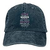 Jopath Terapia Física Fisioterapeuta Regalo Presente Clásico Sombrero Gorra De Béisbol Hombres Mujeres Lavable Ajustable Liso
