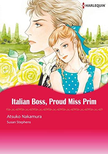 Italian Boss, Proud Miss Prim: Harlequin comics (English Edition)