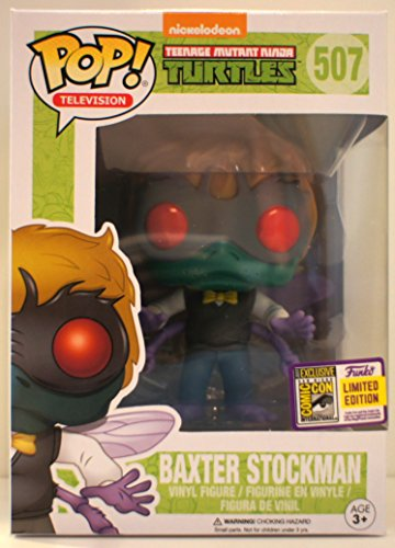 SDCC 2017 Funko Pop! Teenage Mutant Ninja Turtles Baxter Stockman Vinyl Figure Summer Convention Exclusive