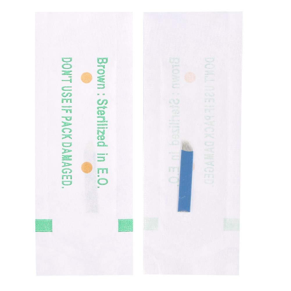 50Pcs Box Manual Eyebrow Tattoo 18 Max 90% OFF Needles All items free shipping Pin Microbladi