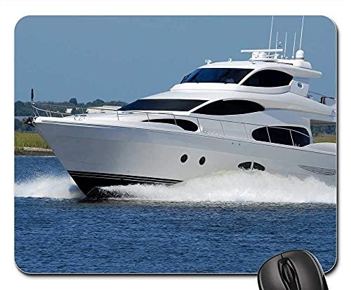 Mauspad - Luxus Yacht Boot Geschwindigkeit Wasser Fluss Ozean Meer