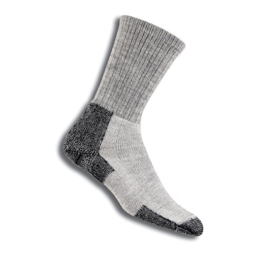Thorlos Hiking Crew-Cut Socken Grey/Black Schuhgröße L | 43-47 2019