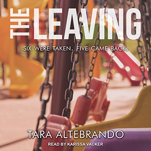 The Leaving audiobook cover art