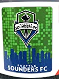 Rico Industries, Inc. Seattle Sounders FC Large Lightweight 50x60 Super Soft Fleece Throw Blanket Football Club MLS Soccer