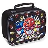 Power Rangers Brotdose Kinder, Kühltasche Brotdose Kindergarten Jungen, Lunchtasche mit Reißverschluss für Schule und Reisen, Kleine Geschenke fur Kinder