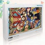 assoluto Japón Anime Jigsaw Puzzle, 1000 Piezas En Caja Fotografía Juguetes Juego Arte Pintura, Adultos Y Niños Stress Reliever Puzzle(Color:UNA)