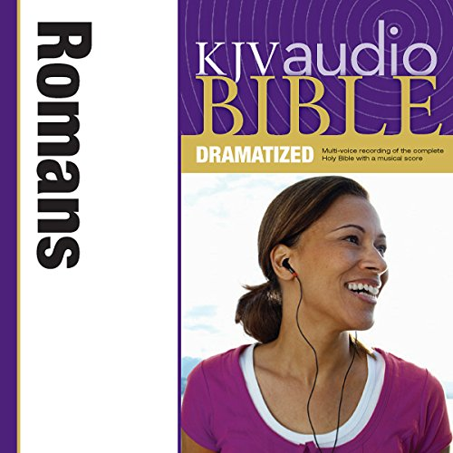 Dramatized Audio Bible - King James Version, KJV: (34) Romans Audiobook By Zondervan cover art