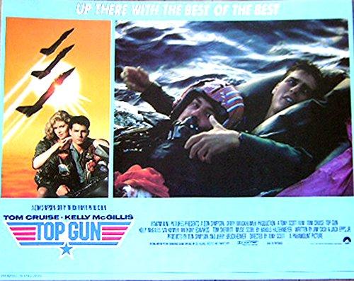 Top Gun 1986 Authentic, Original Tom Cruise 11x14 British Lobby Card Movie Poster