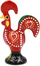 Ibergift Traditional Portuguese Aluminum Rooster Galo de Barcelos (2 Inches Tall, Red)