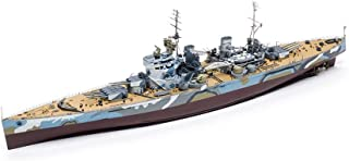 3D WWII Warship Puzzle Model, 1:350 Prince of Wales, Battleship, Children's Toys and Collectibles (3.5Inch5.9Inch25.6Inch)