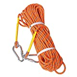 LUOOV 10M(32ft) 20M(64ft) 30M (98ft) 50M (160ft) Safe Utility Rope,Rock Rope,Static Rope,Diameter Rope