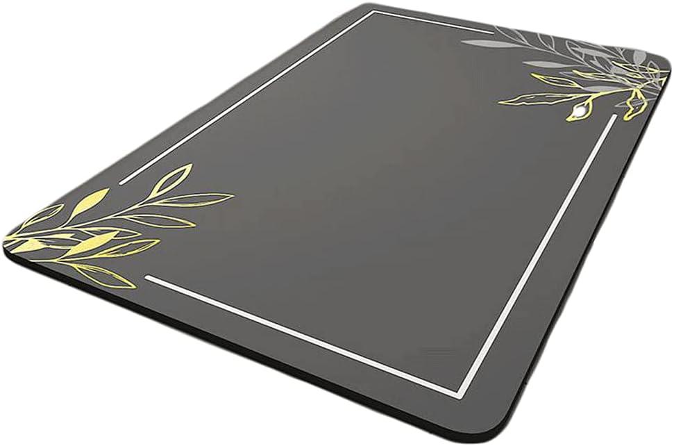 Bathroom mats Non-Slip Dark Max 40% OFF Gray Strong Max 75% OFF Resili