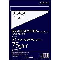コクヨ インクジェット プロッター用紙 トレーシングペーパー A4 100枚 セ-PIT79N Japan