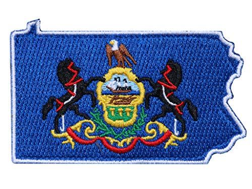 Die-Cut Pennsylvania Tactical Patch