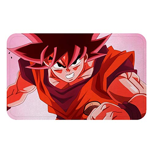 Lee My Anime 3D-tapijt, groot, antislip, voor woonkamer, slaapkamer, slaapkamer, rechthoekig, wasbaar, Dragon Ball Anime, speeltafel, salontafel, slaapkamer, badkamer, anti-slip pad (Dragon Ball)