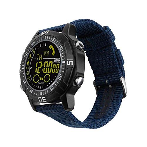QAR intelligent horloge militair outdoor sport metalen shell telefooninformatie herinnering waterdicht smartwatch