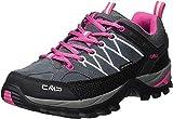 CMP Damen Rigel Low Wmn Shoes Wp Trekking- & Wanderhalbschuhe, Grau (Grey-Fuxia-Ice 103Q), 39