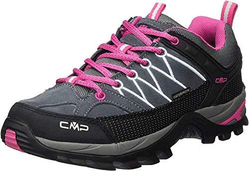 CMP Damen Rigel Low Wmn Shoes Wp Trekking- & Wanderhalbschuhe, Grau (Grey-Fuxia-Ice 103Q), 38