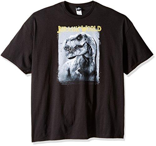 Jurassic Park Herren T-Shirt Rex Mug - Schwarz - 4X-Groß