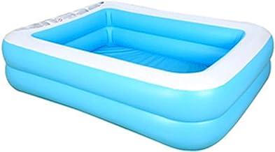 YAOJIA Piscina Hinchable Jacuzzi Piscina Inflable para Niños Adultos Familia, Jardín, Juguete Trasero |por Encima del Suelo Natación Pool Pool Summer Water Party (Size : 110CM)