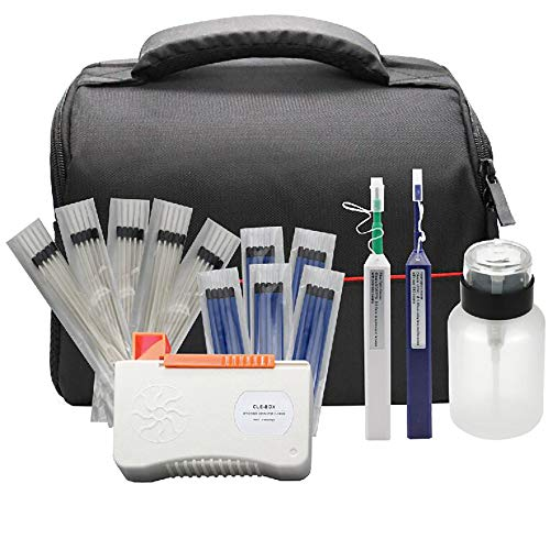 Fiber Optic Cleaning Kit Fiber Optic FTTH Cleaner Tools with 1.25mm /...