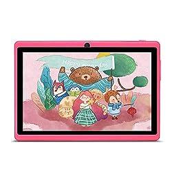 🌟 【Excellente Configuration】: Le Tablet PC est le produit électronique le plus courant de notre vie quotidienne. Notre tablette HAEHNE a un écran 1024 * 600 avec un processeur quad-core A33, 512 Mo de RAM, 8 Go de ROM, Bluetooth et un système de vers...