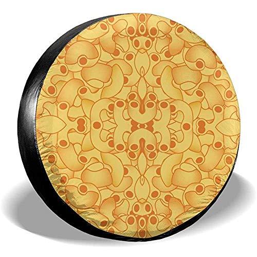 ETGeed Makkaroni und Käse-Reifen-Abdeckung Reifen-Abdeckung für Jaep, Anhänger, RV, SUV, LKW und viele Träger