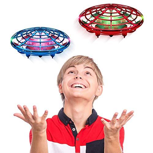 Hand Operated Drones for Kids or Adults - Scoot Hands Free Mini Drone Helicopter, Easy Indoor...