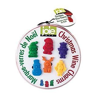 MSC-International-Christmas-Wine-Charms-NA-mehrfarbig