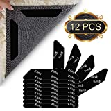 Lifelf Antirutschmatte für Teppich, 12 Stück Anti Rutsch Teppichunterlage für Harter Boden
