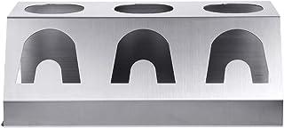 BoBoHome Support de séchage d'égouttoir de Support de Bouteille de Tasse de 3 Trous d'acier Inoxydable