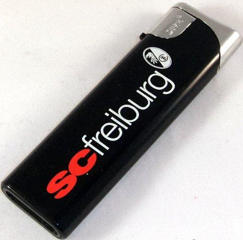 'SC Fribourg Briquet rechargeable noir \