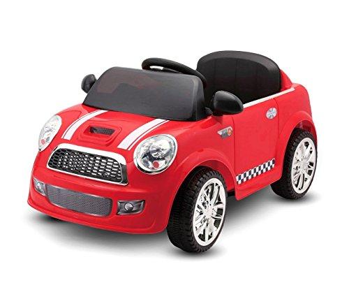 Macchina elettrica Rossa LT848 per Bambini Baby Car monoposto 6V Doppio Motore. Media Wave Store